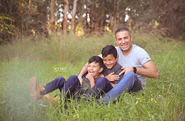 חבילת צילומי משפחה/ילדים בסיסית